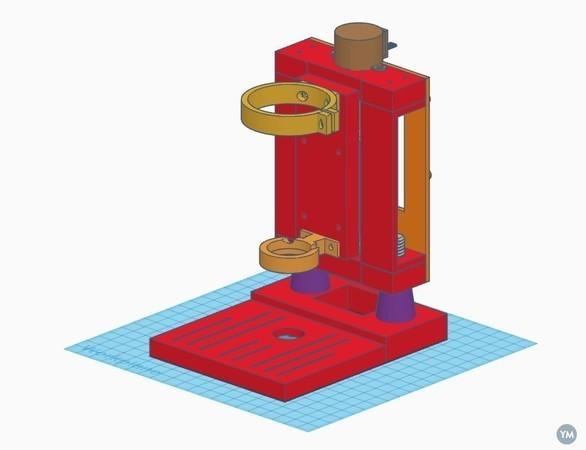 Arduino controlled Drill Press V3