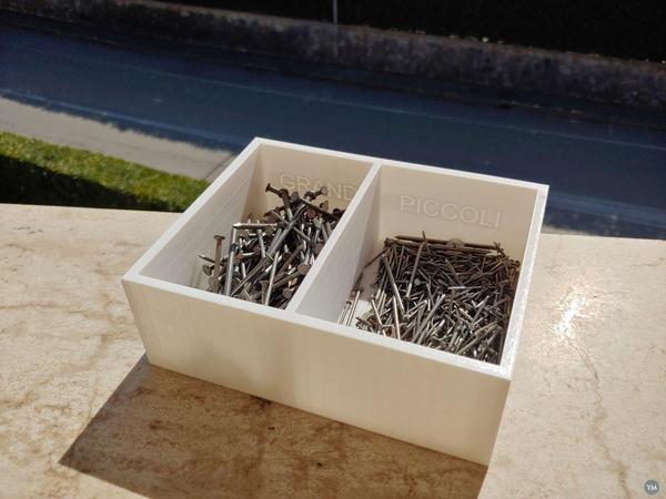 scatola per chiodi / nails box