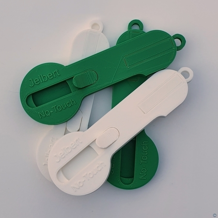 """Covid 19 """"No-touch"""" hand tool for buttons, switches, doors etc"""