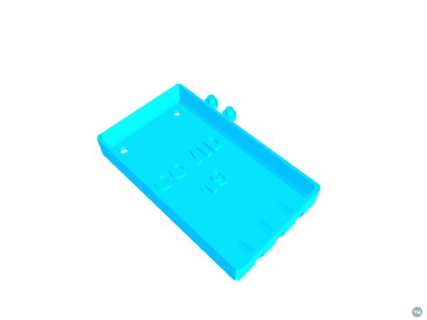 COVID-19 Soap Tray  (Always dry soap, lasts longer)