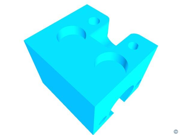 Printrbot Play 4 start lead screw adapter
