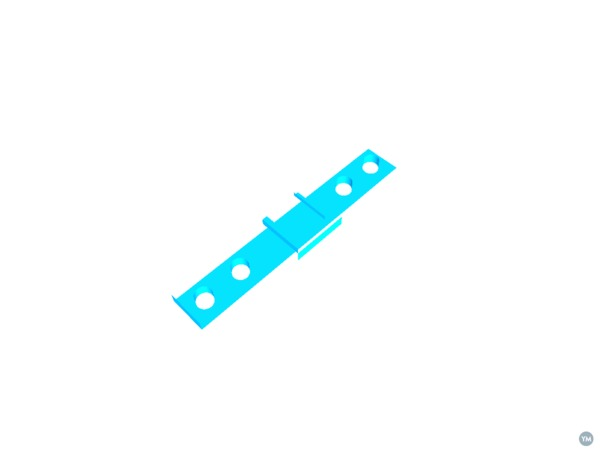 SYOSIN/SUPERSTA Rear Light Bracket for Decathlon Rack
