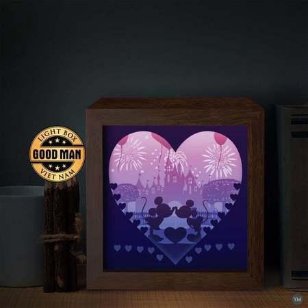 mickey lamp ligthbox
