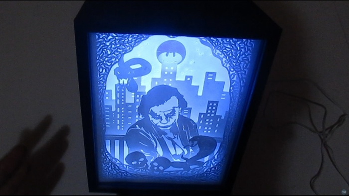 joker lamp ligthbox