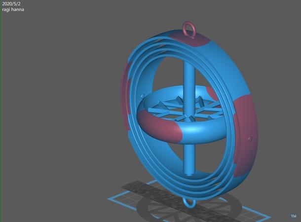 4 axis gyroscope