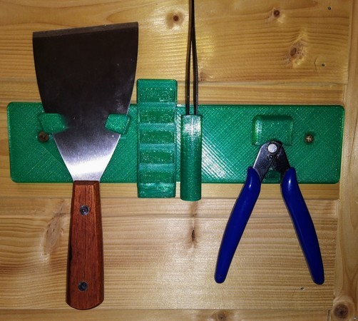 Anycubic tool holder (spatula, pliers, wire cutter)