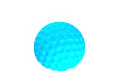 Rendering of Half Ball Solid