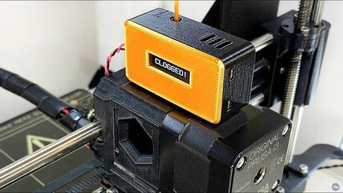 3D Printer Clog Detector