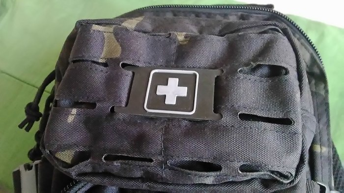 Firts Aid Plate Molle System