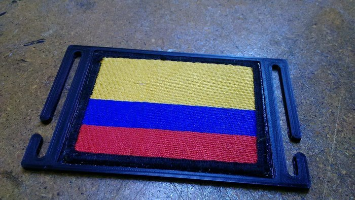 Flag Plate Molle System
