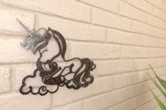 Sleepy Unicorn Wall Art 2