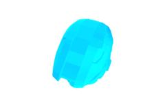 Tentativa de design de capacete para usuários de óculos de grau