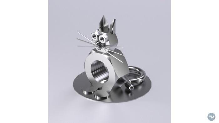 Cat mechanical figure