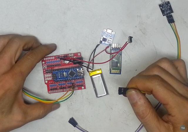 Making a Bluetooth Control IR Remote Copier