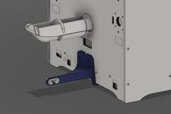 Ultimaker 3 Filament Guide Cad Onprinter
