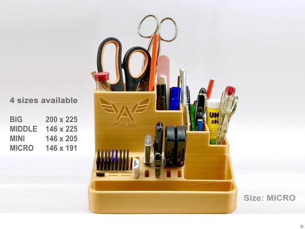 Multi Pencil Holder + USB, SD, M-SD - 4 sizes
