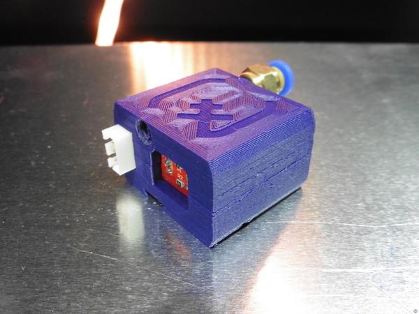 Filament Jam Detection using Optical Endstop