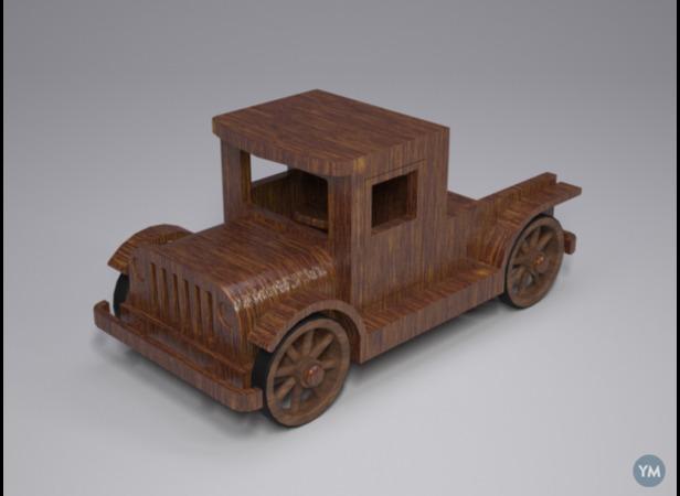 Truck toy vintage