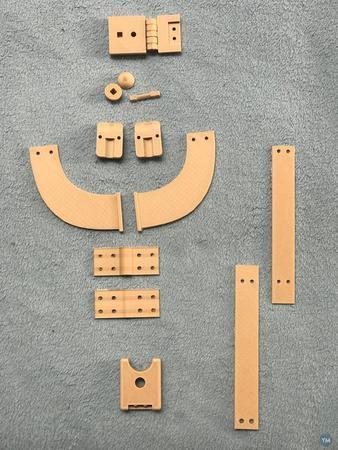Gunter Schnorr Turning-Nodding Mechanism for theater Puppet
