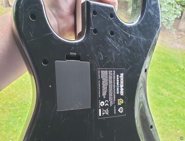 Rock Band Guitar Battery Cover