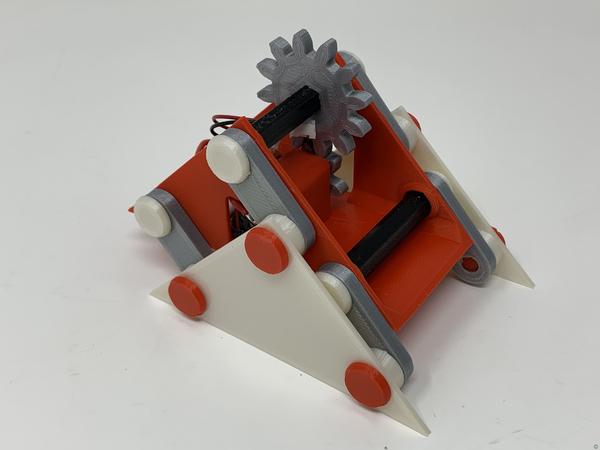 """A 3D Printed Simple """"Walking"""" Mechanism"""