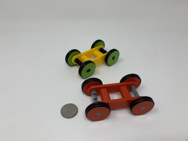 Designing a Simple 3D Printed Rubber Band Car Using FreeCAD