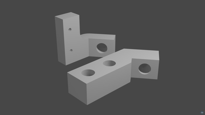 Prusa i3 rework Z-axis solidifying kit
