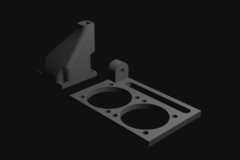 Prusa I3 Accessory Filament Fan