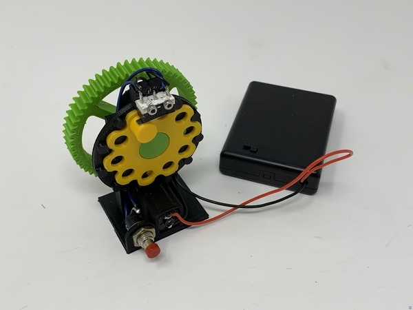 Cycloidal Disk Electro Mechanical Timer.