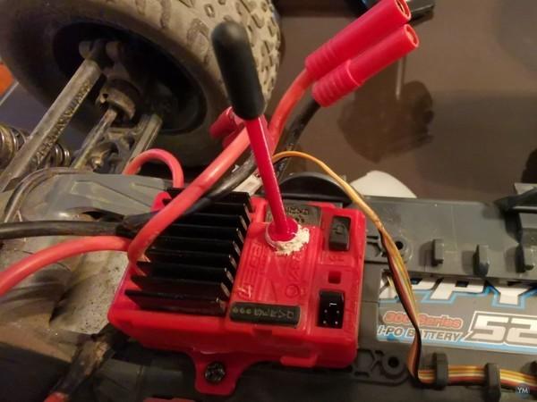 Arrma Voltage Granite antenna holder