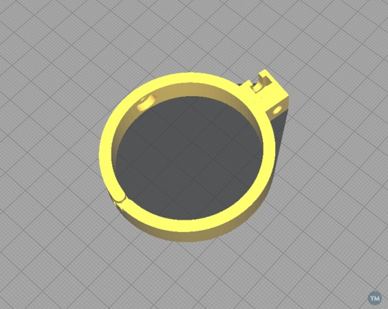 Food printing: support parts for Cakewalk3d