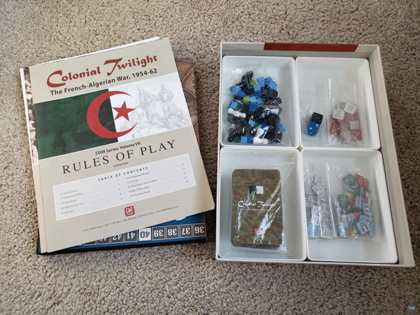 Colonial Twilight box filler and organizer