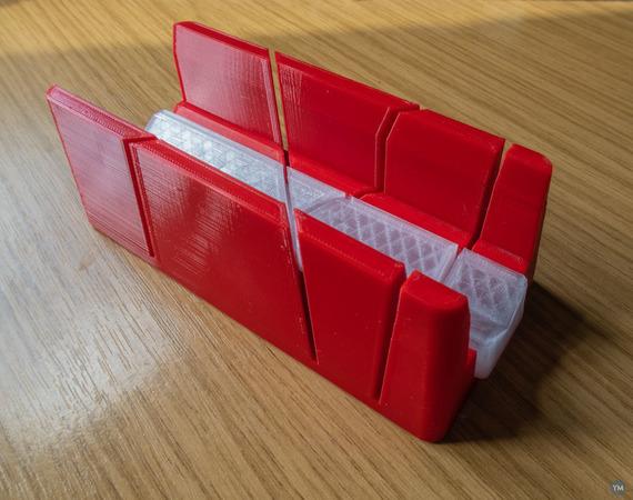 Mitre Block for Plastic Trunking & Conduit