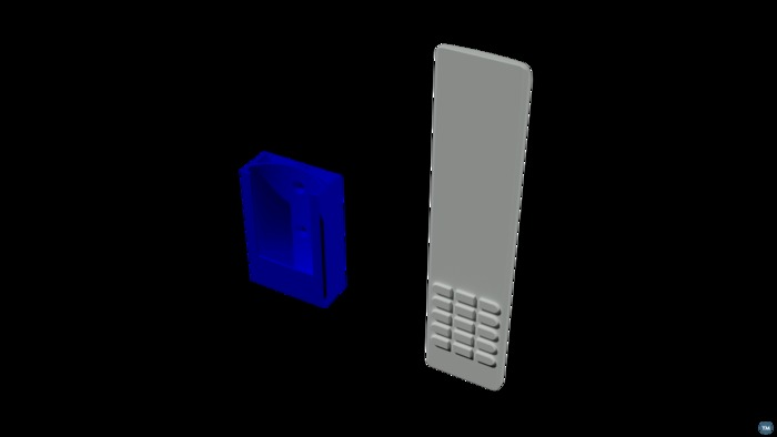 holder for TV remote
