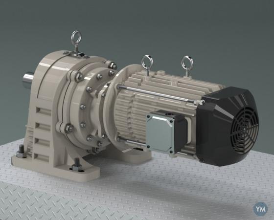 Gear Motor - Foot mount