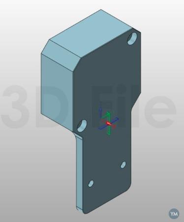 Prusa i3 MK3S Laser Mount for Opt Lasers Grav
