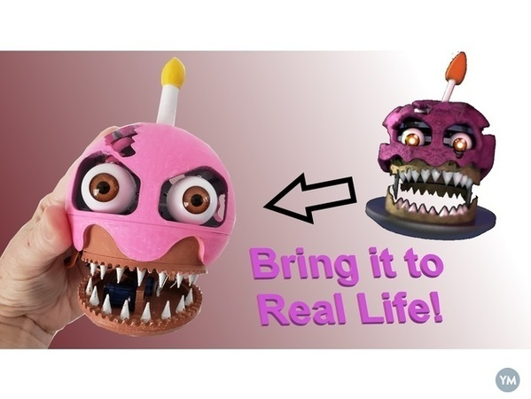Five Nights At Freddy's: Monster Cupcake