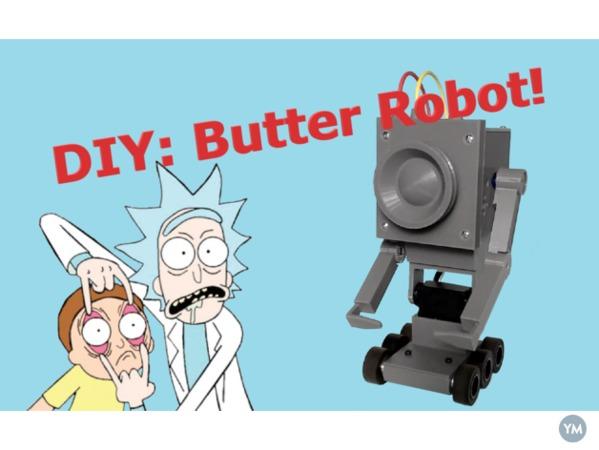 Pass the butter Robot