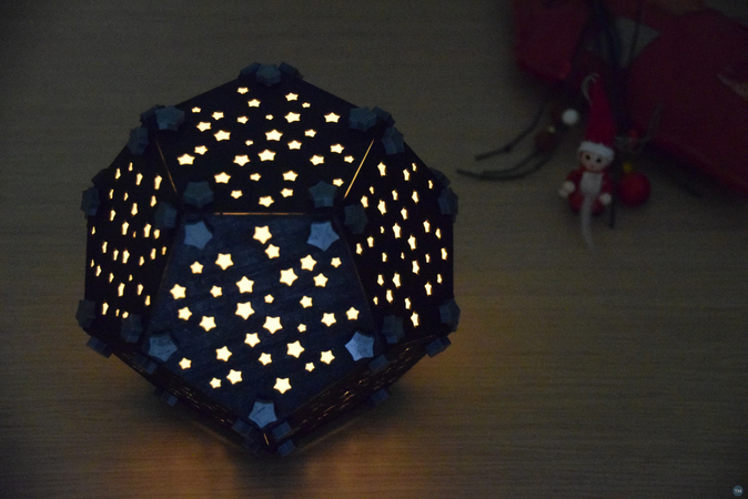 Christmas Vault (Dodecahedron Lampshade)