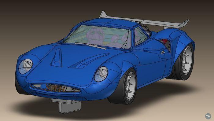 Slotcar SR-40