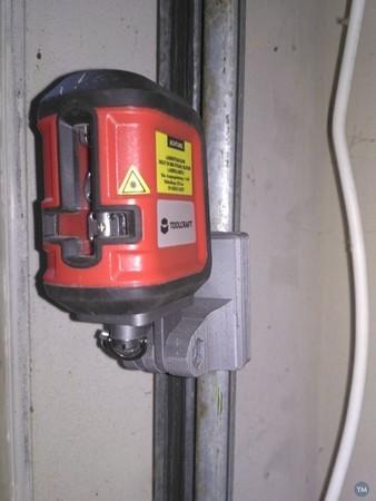 Cross nivelar laser magnetic holder