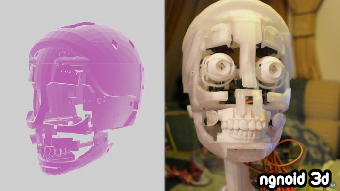 Animatronic Skull v5 for Sylvie 2021