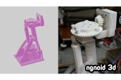 Neck Mechanism For Display Render
