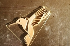 Container Bird Pendant Necklace 3d Printing 380041