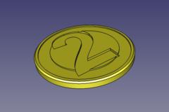 Cart Coin 2eur Token 1a Ziga M20210306