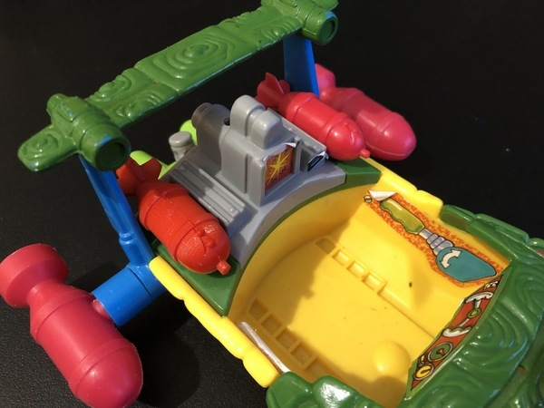 TMNT SEWER SPEEDBOAT REPLACEMENT PARTS