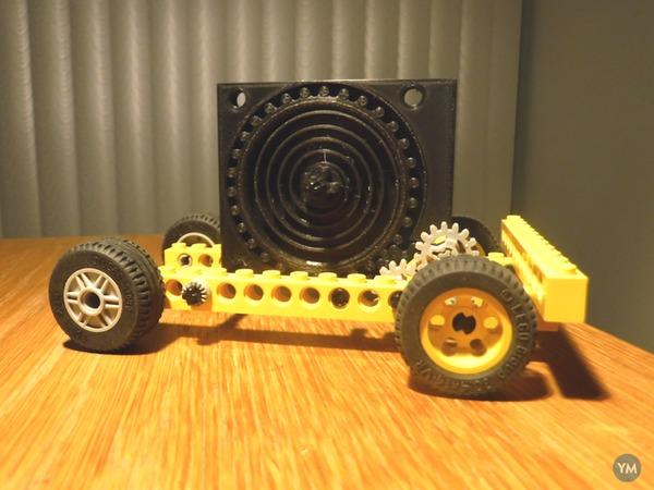 Integrated Cog Spring Engine