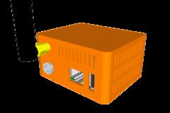 Case Orange Pi Zero W Ex Brd Fan 00