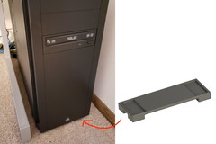 Desktop Computer Stand For Rugs