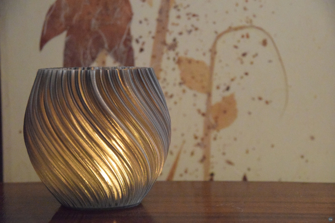 Pellucid Sweep (Tealight holder - vase mode)